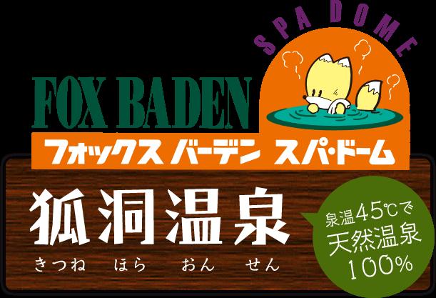 FOX BADEN フォックスバーデン スパ・ドーム