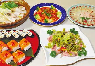 忘新年会ほか各種宴会について、ご予算・人数に応じて予約受付中の、フォックスバーデン宴会料理の一例写真